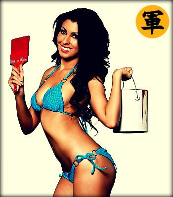 Sexy in bikini